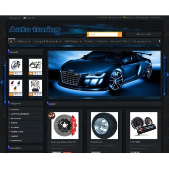 Auto Parts - Motorcycle - Bike - Tuning - Audio