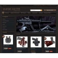 Opencart Gun Store Themes