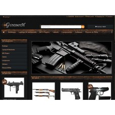 Opencart Gun Shop Shop