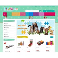 a Pet Shop - Responsive Theme